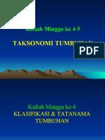 Mgg 4-5 Taksonomi Tbhan