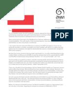 Merriman AWI letter