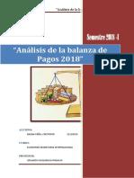 Analisis Balanza de Pagos Peruana 2009 2014 Presentacion EDGAR MENDOZA LUGO