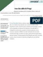 Josef Koudelka regresa a las calles de Praga | Cultura | EL PAÍS