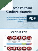 Anestesiología - Síndrome Postparo.pptx