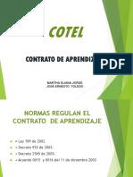 Contrato de Aprendizaje COTEL