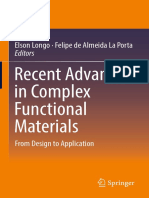 Elson Longo, Felipe de Almeida La Porta (Eds.)-Recent Advances in Complex Functional Materials_ From Design to Application-Springer International Publishing (2017)