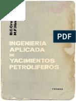 Ingeniera aplicada de yacimientos petrolferos Crafthawkins