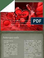 Sangre Fisiologia