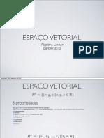 20100908 ESPAÇO VETORIAL