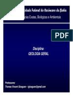 Revisão de Geologia Geral