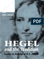Michael Baur, John Russon - Hegel and the Tradition_ Essays in Honour of H.S. Harris