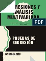Análisis de La Regresión y Análisis Multivariante