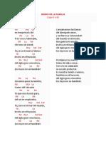Himno de La Familia