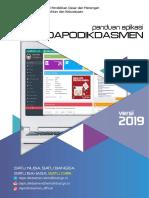 Panduan Aplikasi Dapodikdasmen Versi 2019