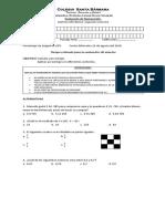 Evaluacion de Numeración Septimo