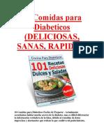 10 Comidas para Diabeticos (DELICIOSAS, SANAS, RAPIDAS)