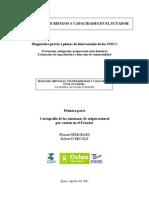 CARTOGRAFÍA DE RIESGOS Y CAPACIDADES EN EL ECUADOR