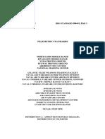 IRIG-106-01 Telemetry Standards