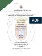 Informe Materiales de Laboratorio de Quimica Analiticas Docx