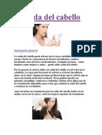 Caída Del Cabello Descripcion General PDF GRATIS.