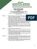 SK PENGURUS TAKMIR MASJID  2016-2019.doc