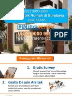 BERKUALITAS, 0822 9000 9990, Jasa Arsitek Rumah Di Surabaya