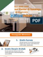 BERKUALITAS, 0822 9000 9990, Jasa Renovasi Kantor Di Surabaya