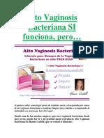 Alto Vaginosis Bacteriana SI Funciona