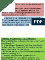Clase 5 Determinacion de Lipidos