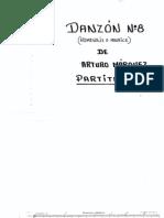 1. Danzoìn No. 8 - Caìmara - Maìrquez - Partitura