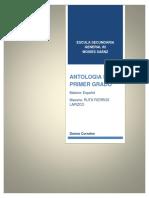 Indice de Antologia de Primer Grado