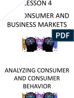 Lesson 4 Consumer and Business Markets