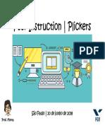 Workshop1 Peer Instruction Plickers