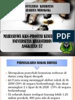 Bahaya Merokok Tonasa