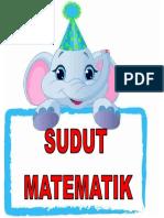 SUDUT MATEMATIK
