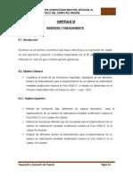 evaluación de proyectos parte de financiamiento