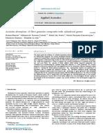 Penyerapan Akustik Komposit Fibro-granular Dengan Butiran Silindris
