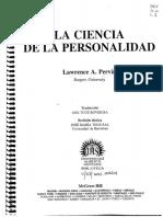 Pervin - La Ciencia de La Personalidad