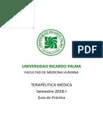 Guía de Práctica URP Terapéutica Médica 2018-I.pdf