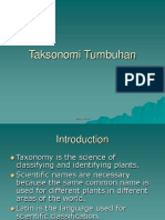 Taksonomi Tumbuhan 1-1