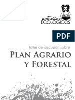 Plan Agrario y Forestal