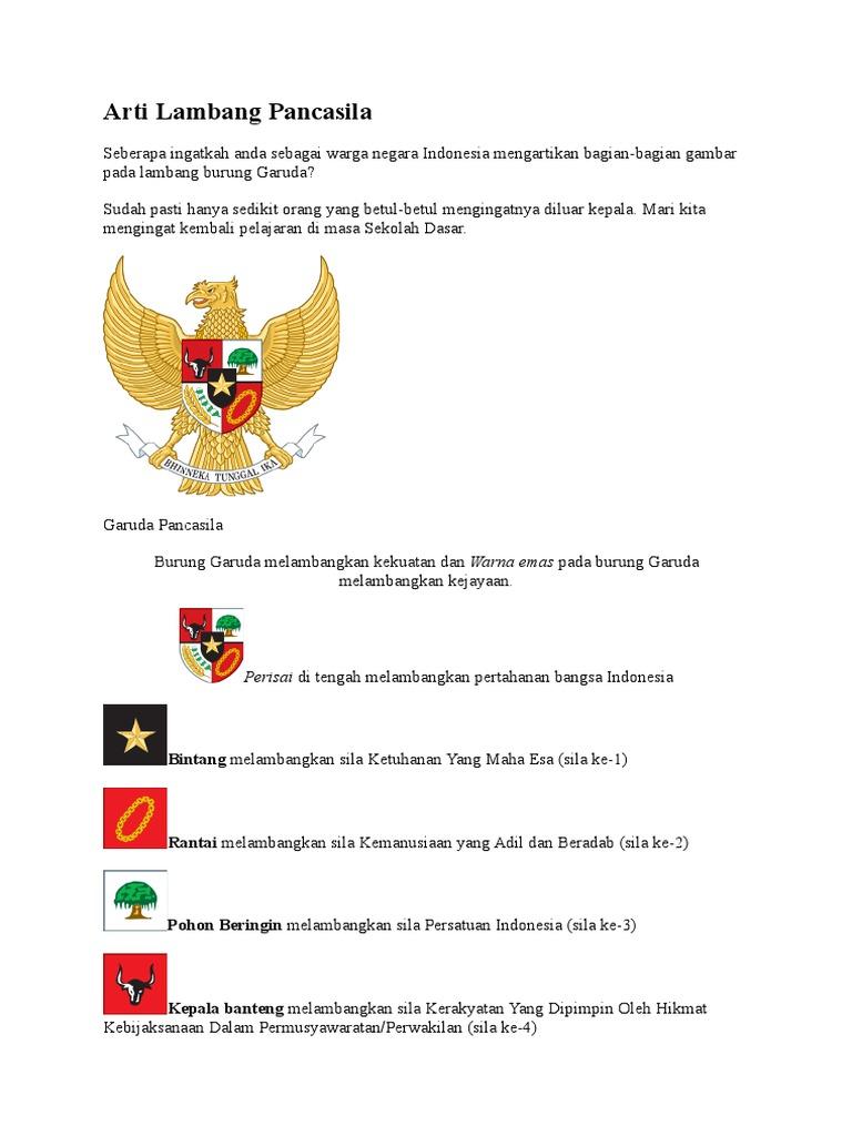 101 Gambar Perisai Burung Garuda Pancasila Melambangkan Paling