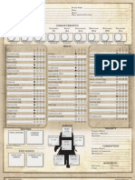 Dark Heresy Character Sheet 5 Page
