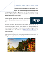Thiết Kế Web Nhà Hàng Chuyên Nghiệp Lantern Town