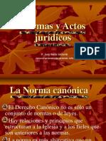 Normas y Actos Juridicos