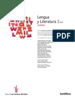 Avanza Lengua y Litera 1 Eso