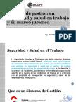 Sesion I. Sistema de Gestion en Seguridad y Salud en El Trabajo y Su Marco Juriodic