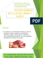 Quimica de La Leche, Carne y Huevos