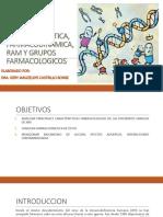 Farmacocinetica, Farmacodinamica, Ram y Grupos Farmacologicos