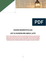 KAJIAN DAN TANYA JAWAB USTADZ HUSSEIN.pdf
