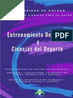 LIBRO - Entrenamiento Deportivo y Ciencias Del Deporte