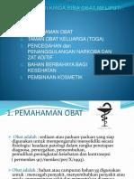 PTT Pemahaman Obat Sbh