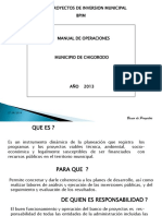 1 Presentación Banco de Proyectos
